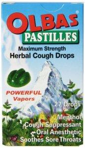Olba's Pastilles Herbal Cough Drops