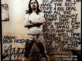 Andrew WK Returns! on Chris Brake Show CB129
