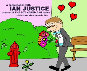 'The Boy Named Ash' Author Ian Justice | CB143