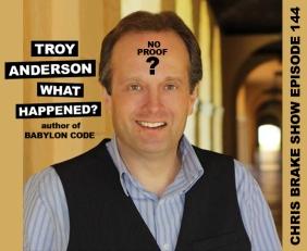 Troy Anderson: No Proof Of Secret Societies or 40 Oz Pimp | CB144
