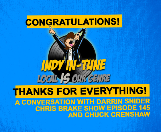 Darrin Snider from Indy In-Tune and Chuck Crenshaw   CB145