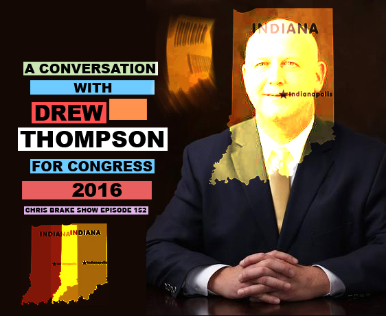 Drew Thompson For Congress and Kenny from Howie At The Coffee Shop | CB152