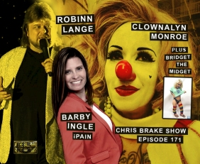 Clownalyn Monroe, Bridget The Midget, Robinn Lange, Barby Ingle from iPain | CB171