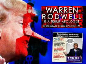 Warren Rodwell Wants No Refugees and Defends So-Called President Trump   CB179