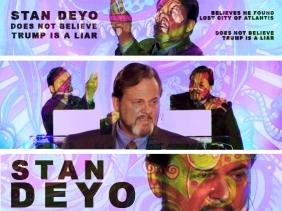 Stan Deyo Found Lost City Of Atlantis, Thinks Donald Trump Does Not Lie   CB182